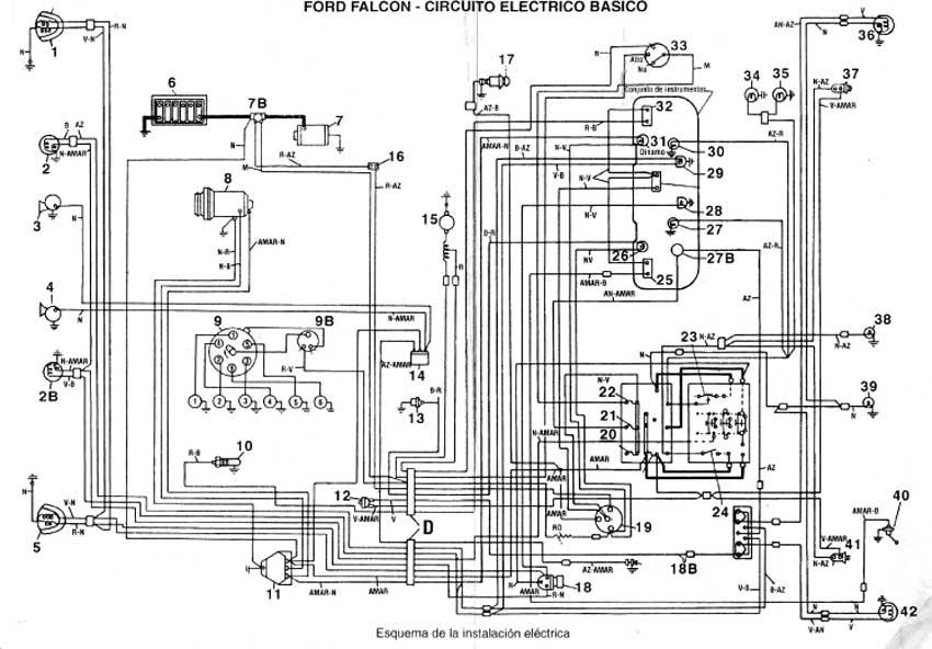 esquema instalacion electrica fiat 147 diesel